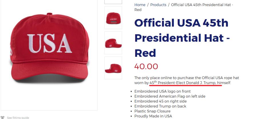 trump hat
